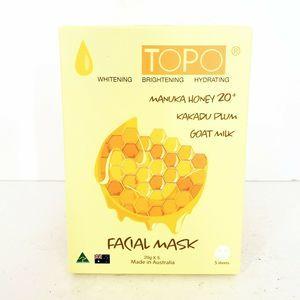 Topo Manuka Honey Kakadu Plum Goat Milk Face Masks